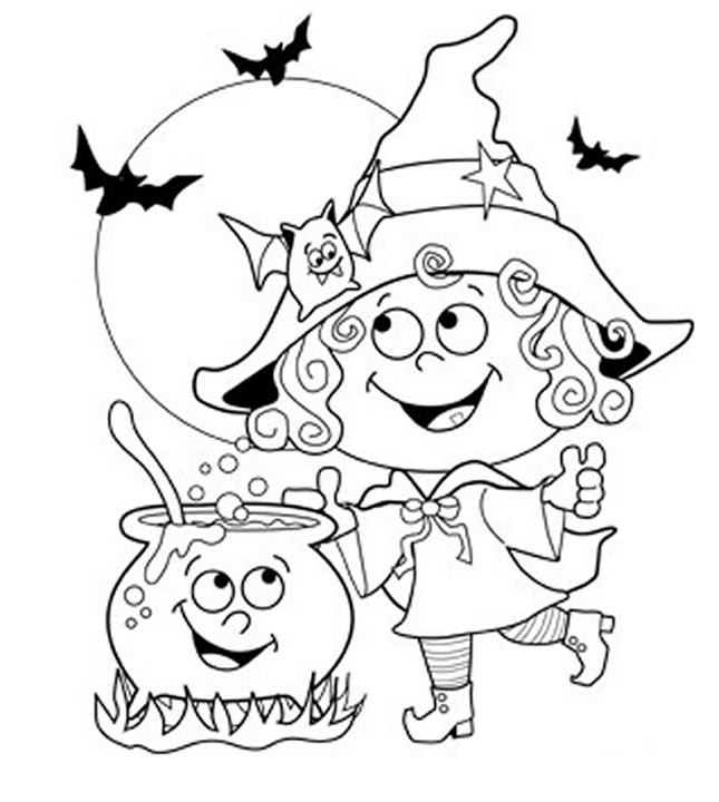 150+ Halloween Coloring and Activity Pages | Sunshine and Munchkins