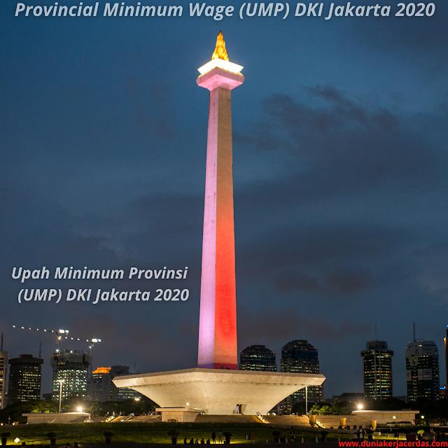 Provincial Minimum Wage (UMP) DKI Jakarta 2020