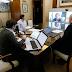 Kicillof realizó teleconferencias con los intendentes del AMBA