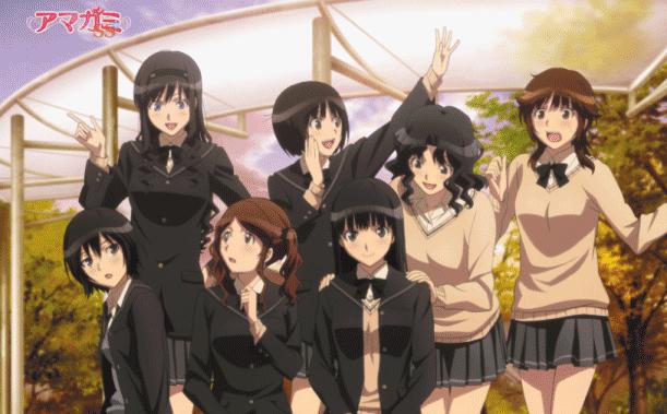 Anime Romance Slice of Life Terbaik - Amagami SS