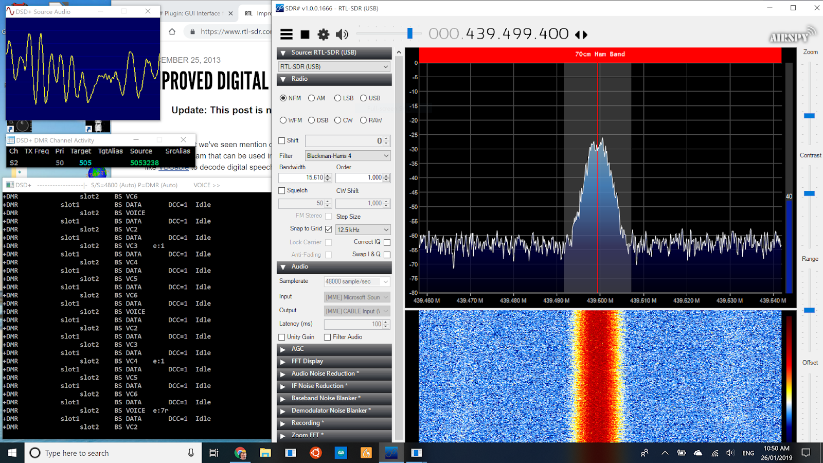 marxy's musing on technology: Listening to DMR without a DMR radio