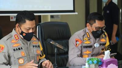 kunjungan Karo Ops Polda Dalam Kegiatan Pengecekan Titik/Pos penyekatan Ops Ketupat Lodaya 2021