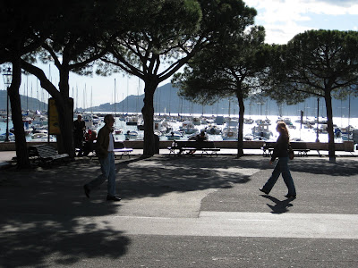 Lerici seaside vacation walk