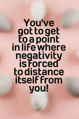 Force Negativity To Distance Itself From You