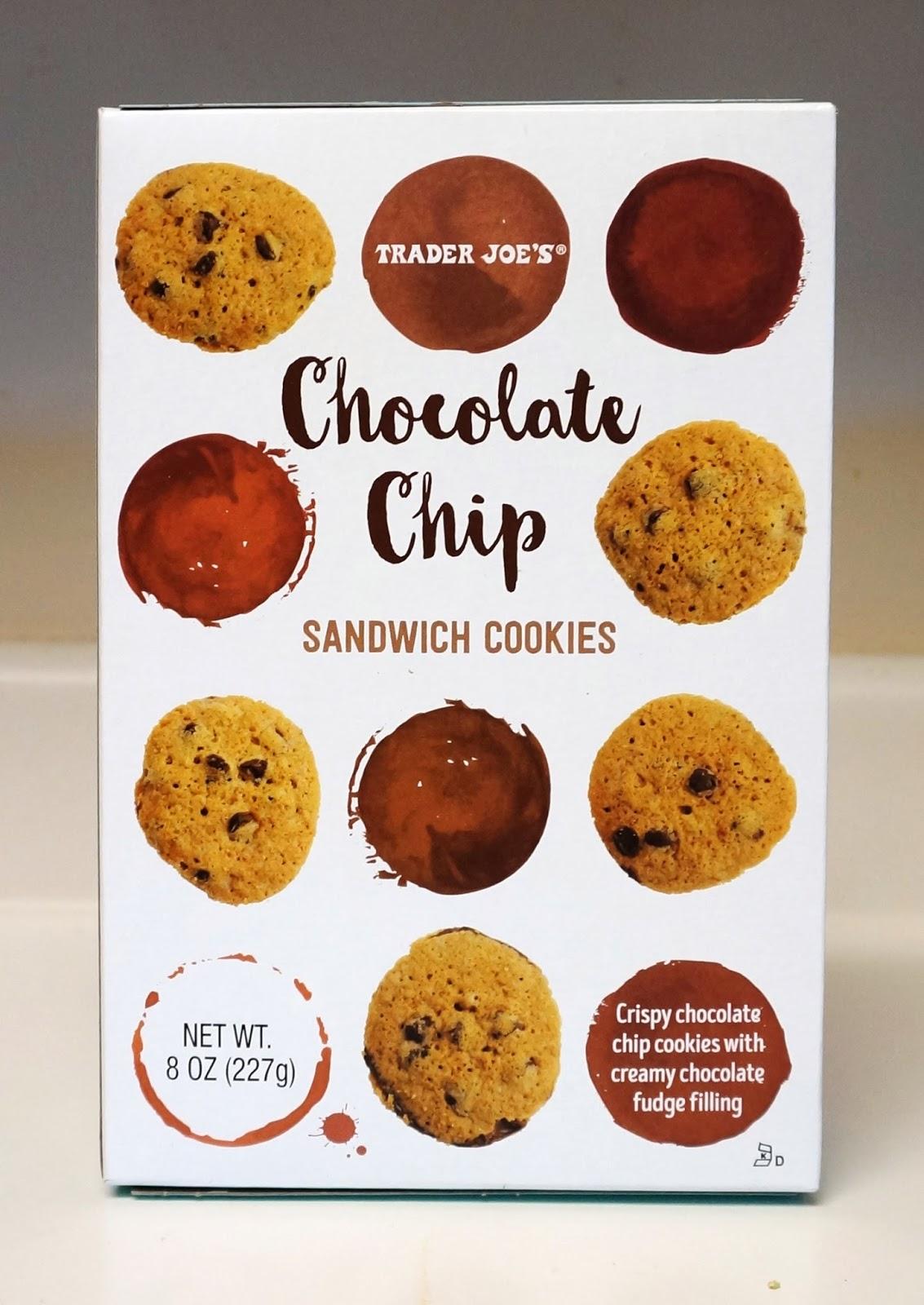 Exploring Trader Joe's: Trader Joe's Chocolate Chip Sandwich Cookies