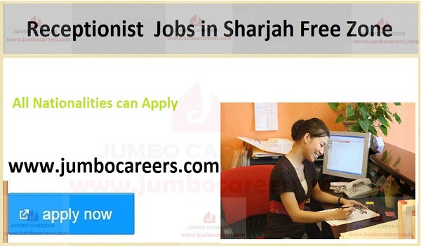 Current Sharjah jobs with salary, UAE new jobs and careers,