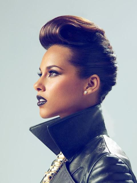 Alicia Keys Short Haircut