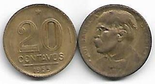 20 centavos, 1955