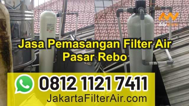 jasa pemasangan filter air pasar rebo