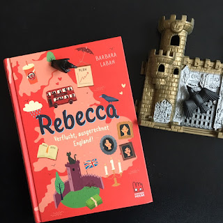 Rebecca Verflucht, ausgerechnet England! von Barbara Laban, Chickenhouse, Carlsen, Kinderbuch ab 10 Jahren, Rezension von Kinderbuchblog Familienbücherei