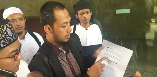 Denny Siregar Resmi Dilaporkan ke Polisi soal Kalimat Tauhid di Video Pengeroyokan Haringga
