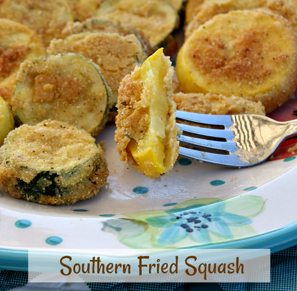 Southern Fried Summer Squash