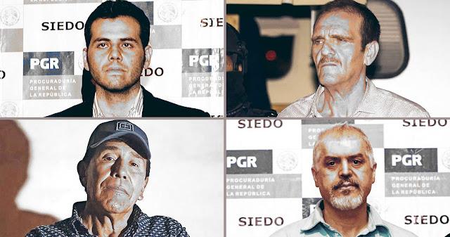 """""""Padres fundadores"""" y herederos del narco están quedando libres, uno a uno en México, pero más en EU"""