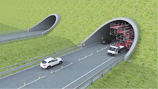 """Si chiama Chimera ed è il primo ponteggio """"in movimento"""" che non ferma il traffico stradale"""