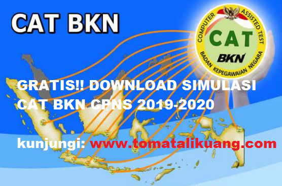 simulasi cat bkns cpns 2019 2020;tomatalikuang.com