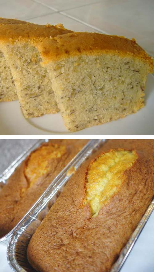Got ripe bananas? Make banana cakes. They're my 'go to' favorites for easy baking. Recipe is simple to follow.
