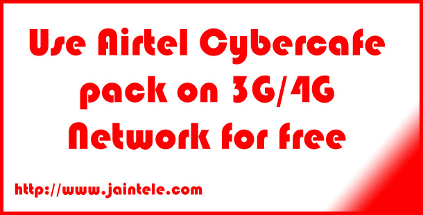 Airtel Free Unlimited 3G/4G Trick July 2016