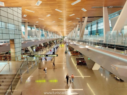 qatar airways transit di dohq