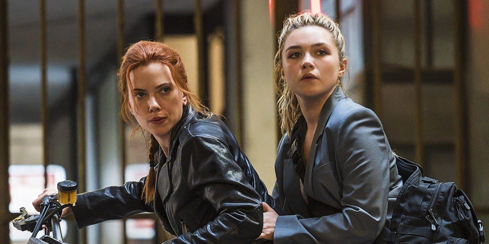 'Viúva Negra': Scarlett Johansson e Florence Pugh revelam detalhes sobre cena do filme