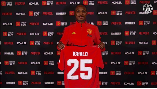 OMG! Odion Ighalo 'BANNED' From Man United AON Training Ground (Read Details)