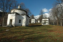 The Sacro Monte di Oropa is one of the attractions of Biella, near Pella's home
