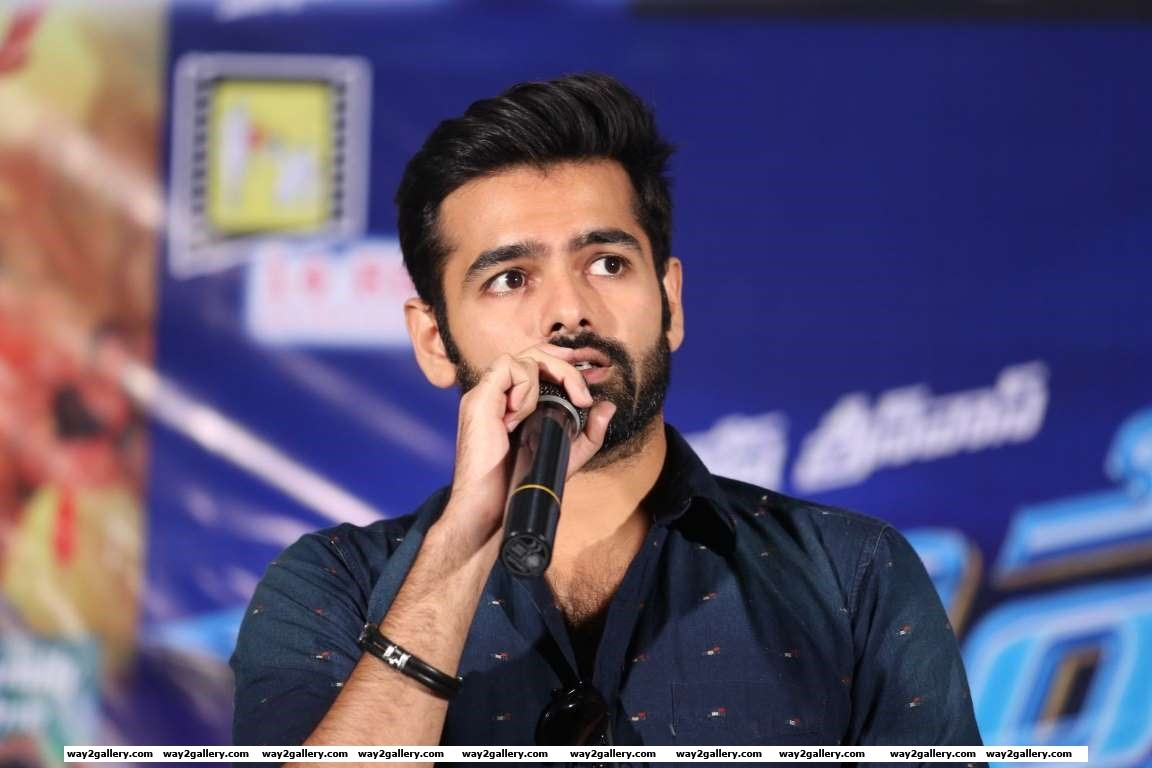 Ram celebrated the success of his latest Telugu film Hyper