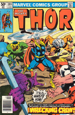 Thor #304, the Wrecking Crew