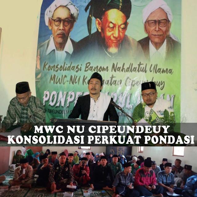 MWC NU Kecamatan Cipeundeuy Kumpulkan Seluruh Banom