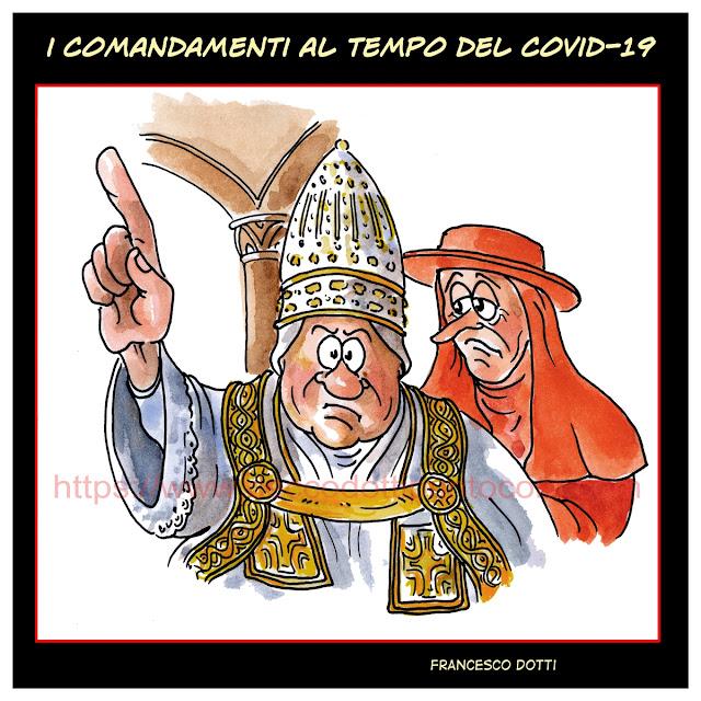 Comandamenti e COVID-19