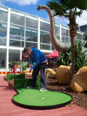 Jurassic Golf in Milton Keynes