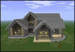 cool minecraft looking builds xbox build nice things mansion cobblestone building mini schematic request help imgur villa creation console edition