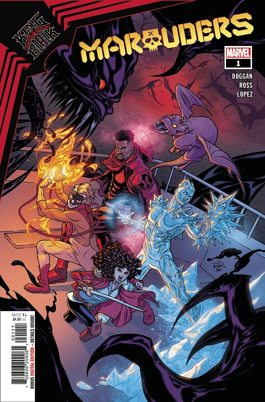 Cover of King in Black: Marauders #1