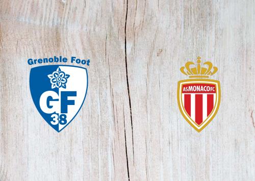 Grenoble Foot 38 vs Monaco -Highlights 10 February 2021