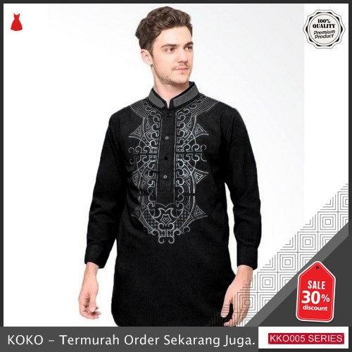 KKO05 ANS719 Baju Koko Pria Muslim Gus Azmi Syubbanul BMGShop