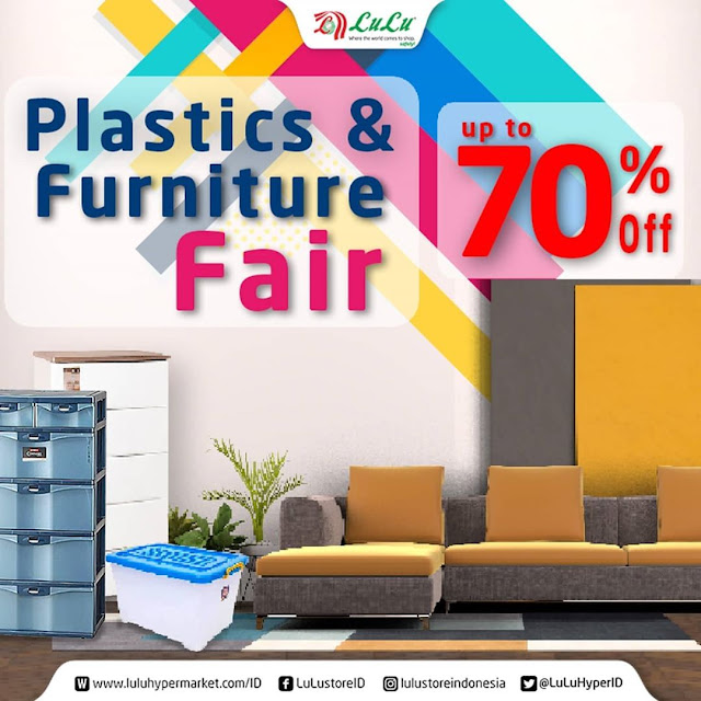 #LuluStore - #Promo Diskon Up To 70% Produk Plastics & Furniture (s.d 30 Nov 2020)