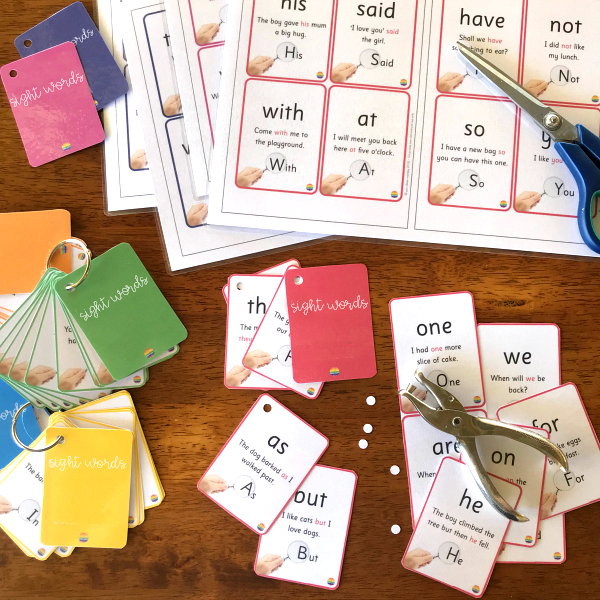 Sight Word Flash Cards | you clever monkey