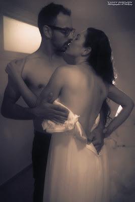 צילומים סקסיים, רומנטיים יום אחרי החתונה