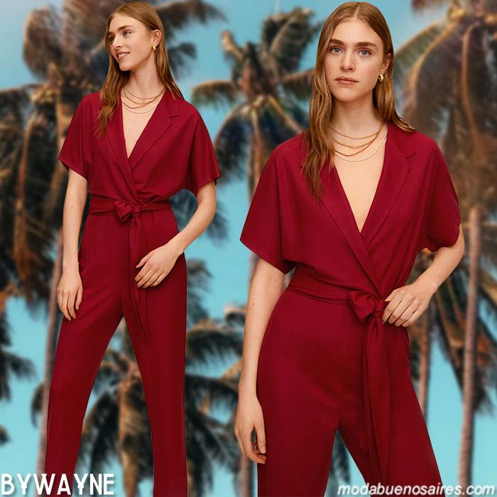 Monos primavera verano 2021 moda mujer