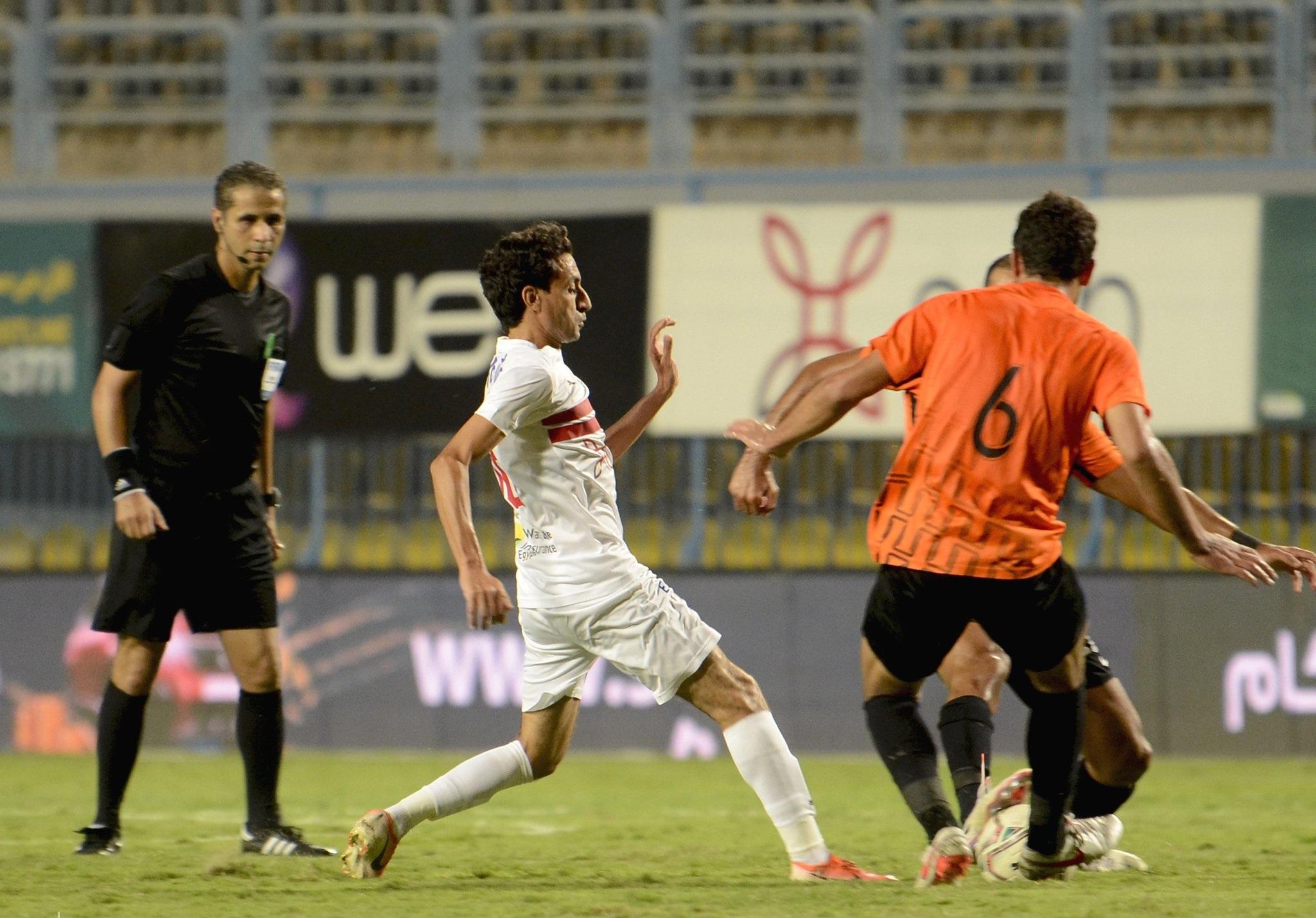 ملخص مباراة الزمالك ضد البنك الأهلي