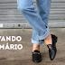 4 maneiras de reinventar um jeans com dobras