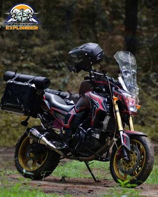 Modif Touring Motor Byson