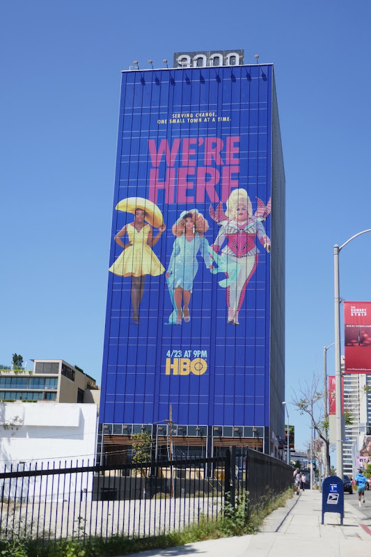 Giant We're Here HBO series billboard