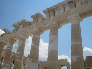 Parthenon Construction Athens Greece