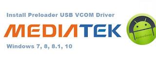 USB VCOM Driver Mediatek MT6577