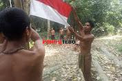 SAD Memperingati Detik-detik Proklamasi di Hutan Suku Anak Dalam