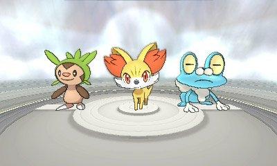 Pokémon XY Iniciais