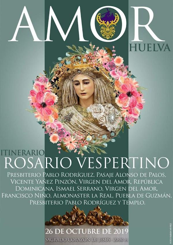 La Hermandad de las Tres Caídas de Huelva perfila su Rosario extraordinario del 26 de octubre