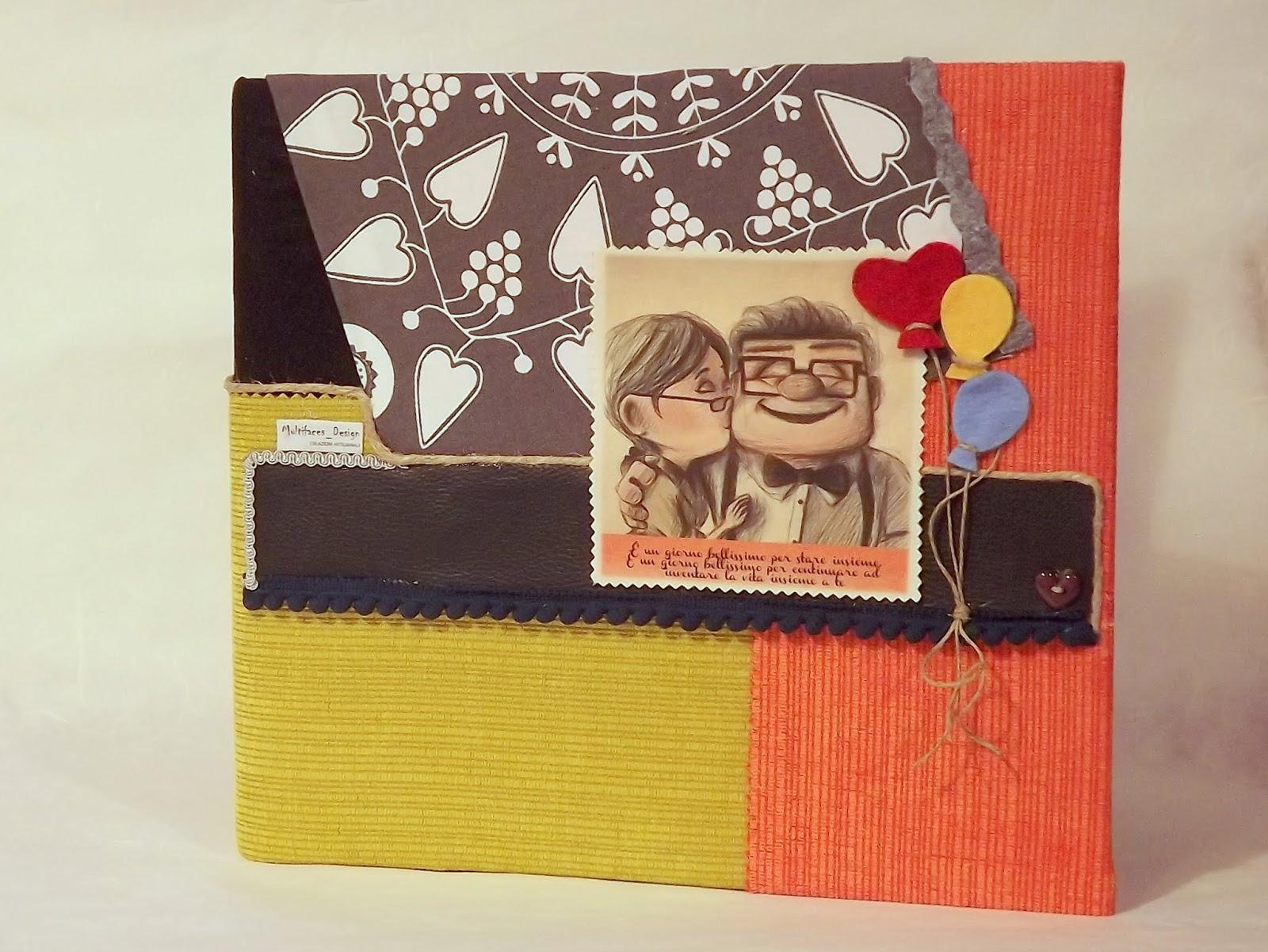 abbastanza creando: Idee per San Valentino: album fotografico BD27