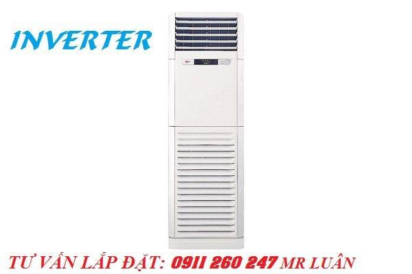 Khuyến mãi đón năm mới bán giá gốc máy lạnh tủ đứng LG 3hp inverter- điều hòa LG APNQ30GR5A3 cực đẹp