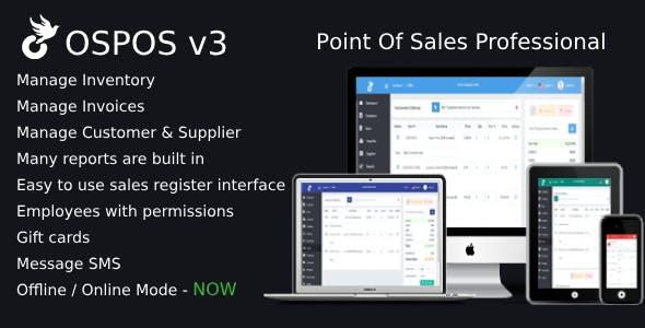 OSPOS Professional (online & offline) v3.3.0